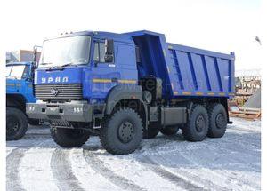Самосвал Урал 6370 (583166)