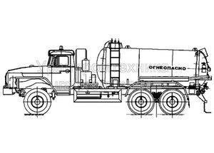 АКН-10 (шасси Урал 4320)