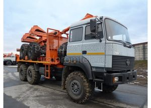 Тягач Урал 55571 (59602B)