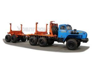Трубовозный автопоезд Урал-55571 (59602A)