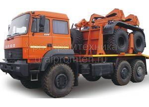 Трубоплетевозный автопоезд Урал-6370 (904705)