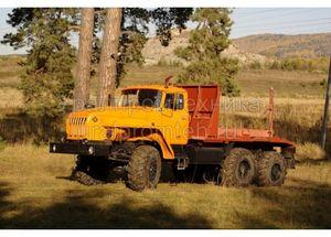 Лесовозный тягач на шасси Урал 55571 (59602C)