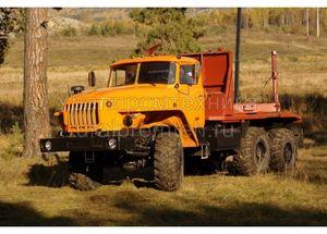 Лесовозный автопоезд Урал (9047L)